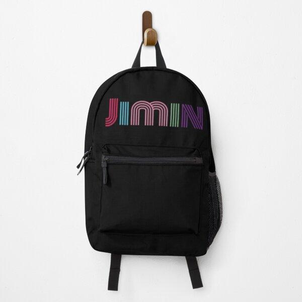 BTS Jimin (Black) Backpack
