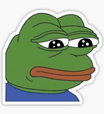 A common Pepe Sticker
