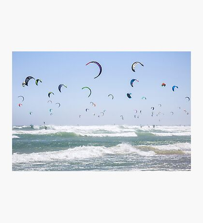 """""""Pretty as a Picture"""" Guinness World Record - Kitesurfing Photographic Print"""