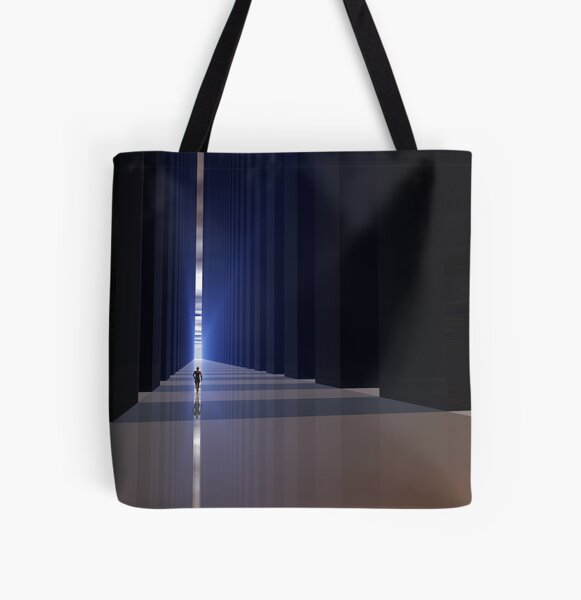 Everything in Its Right Place All Over Print Tote Bag