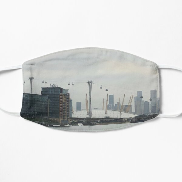 Excel Marina By The London Docklands Scenery Flat Mask