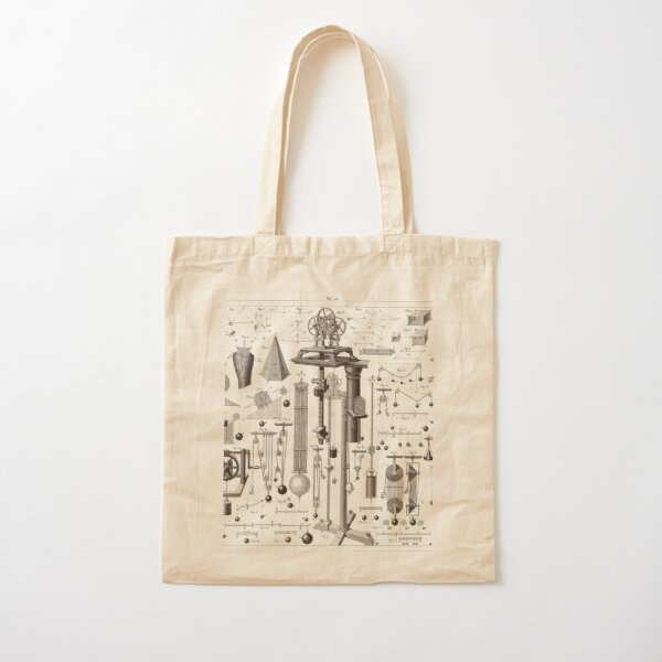 Vintage Science and Engineering Posters Cotton Tote Bag