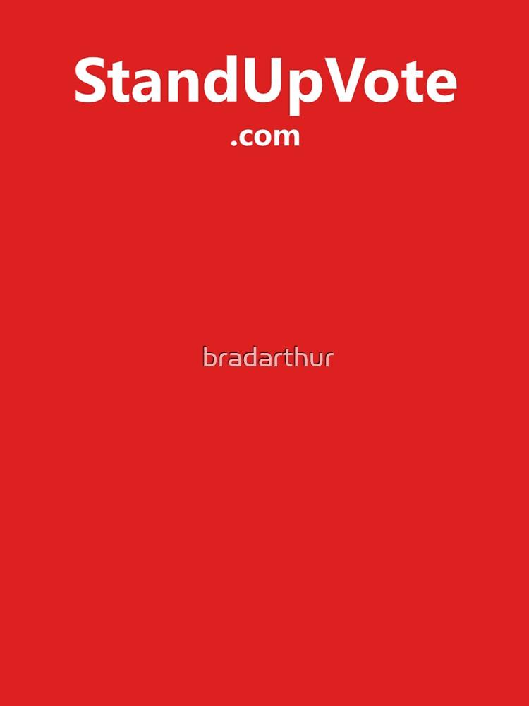 StandUpVote.com-shirt by bradarthur