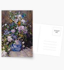 Pierre Auguste-Renoir 'Grande Vase Di Fiori' Postcards