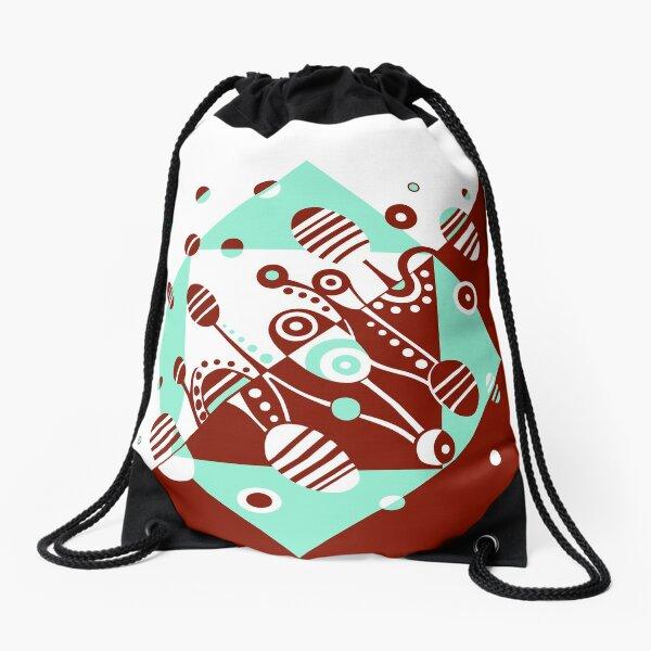MICROGRAVITY - VINTAGE Drawstring Bag