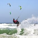 Fun with Wind & Water - Kitesurfing - Cape Town, South Africa by SeeOneSoul