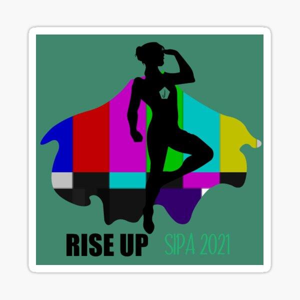 Rise Up 2021 Journalist Sticker