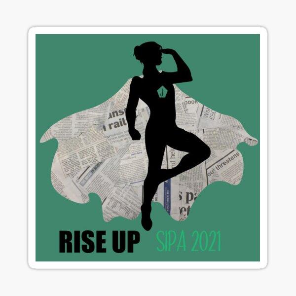 Rise Up 2021 Print Journalist Sticker