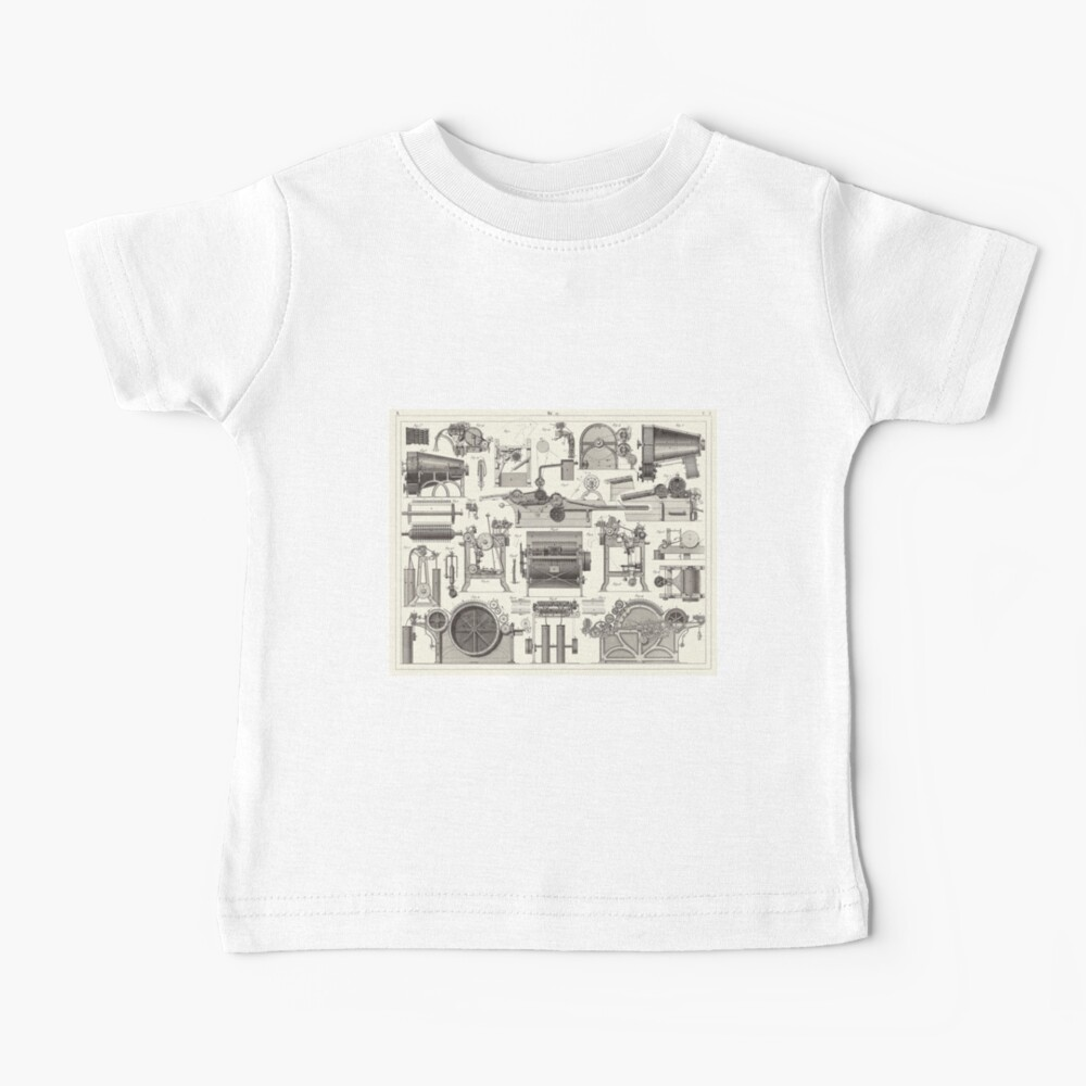 Vintage Science and Engineering Poster Baby T-Shirt