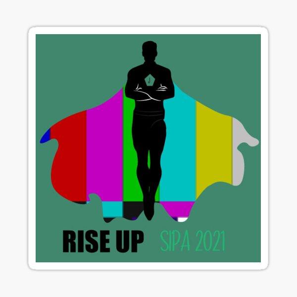 Rise Up 2021 Journalist Hero Sticker