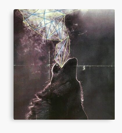 Wolves in the Night Canvas Print