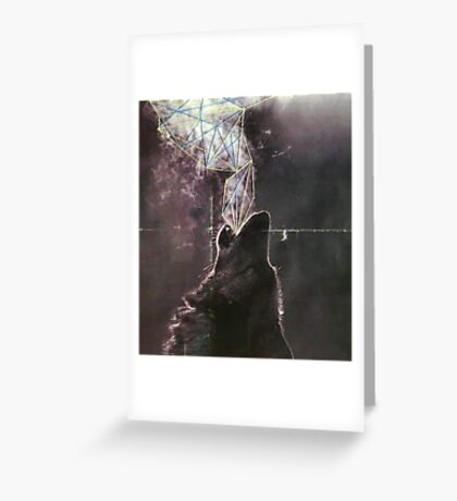 Wolves in the Night Greeting Card