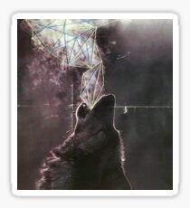 Wolves in the Night Sticker