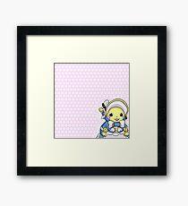 Pikachu Belle Framed Print
