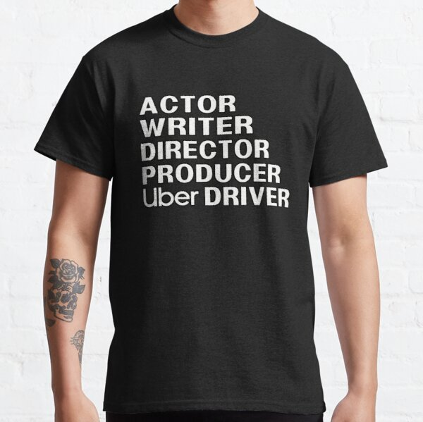 Writer Producer Actor Director Filmmaker Gifts Movie Theater t Shirt