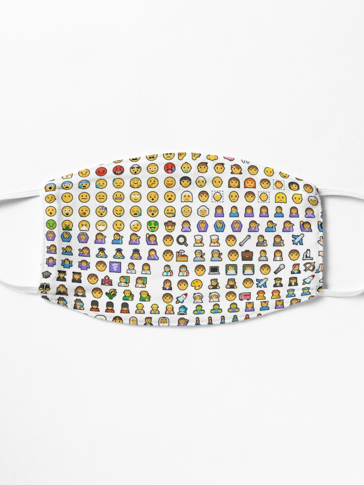 Alternate view of Emoji Mask