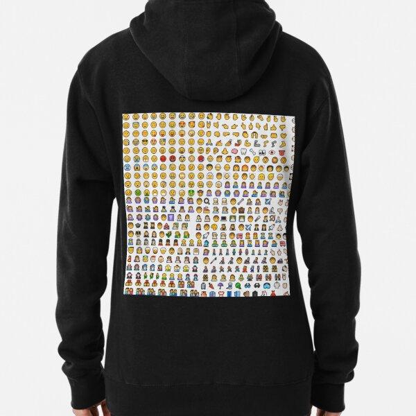 Emoji Pullover Hoodie