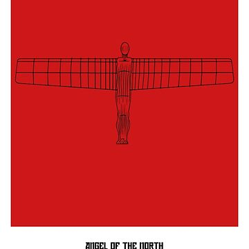 World Sketches - Angel Of The North by springwoodbooks