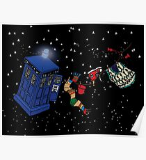 Doctor Who TARDIS Clothes Line Poster