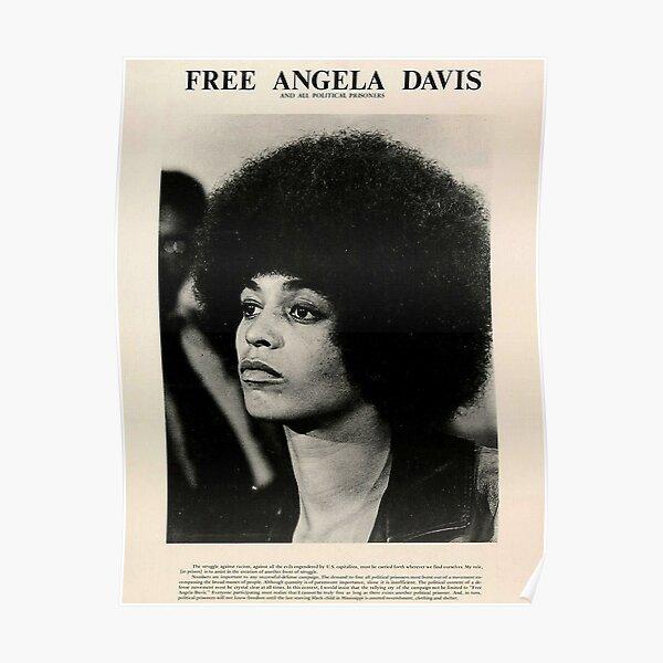 Free Davis Potrait Poster