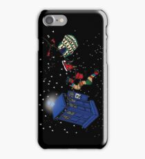 Doctor Who TARDIS Clothes Line iPhone Case/Skin