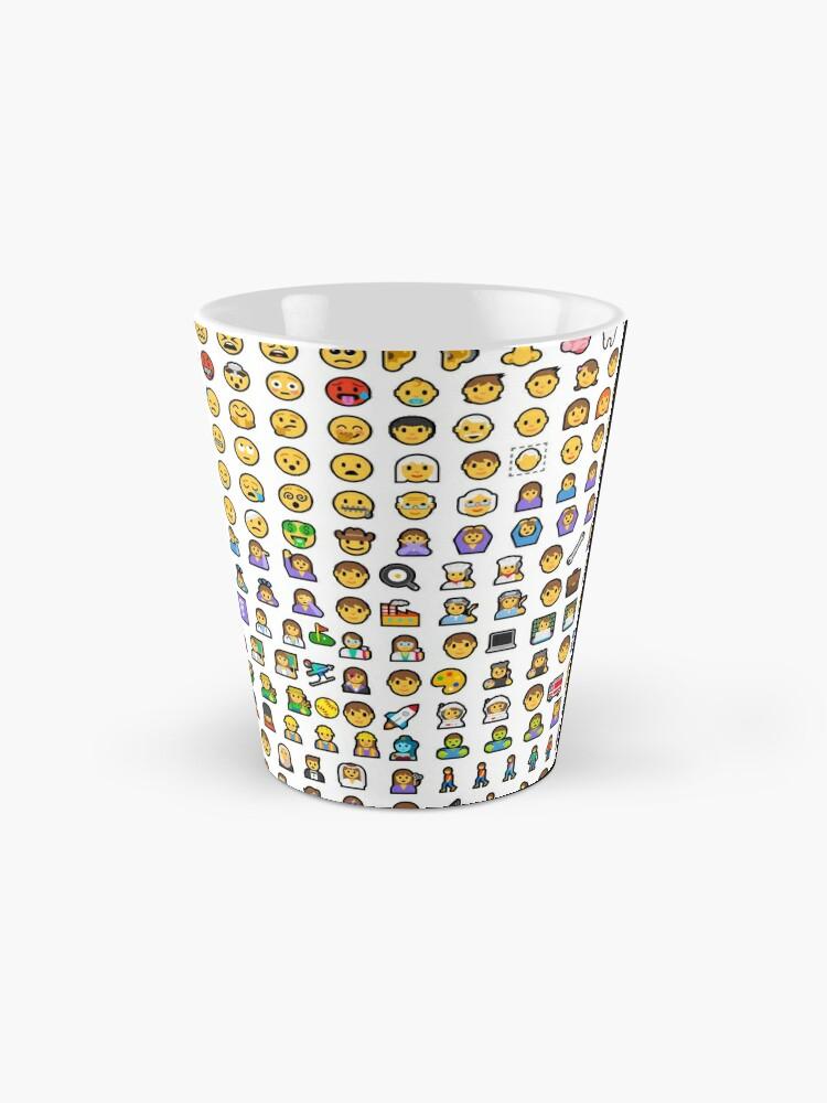 Alternate view of emoji Mug