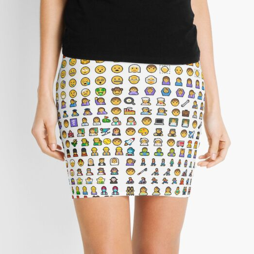 emoji Mini Skirt