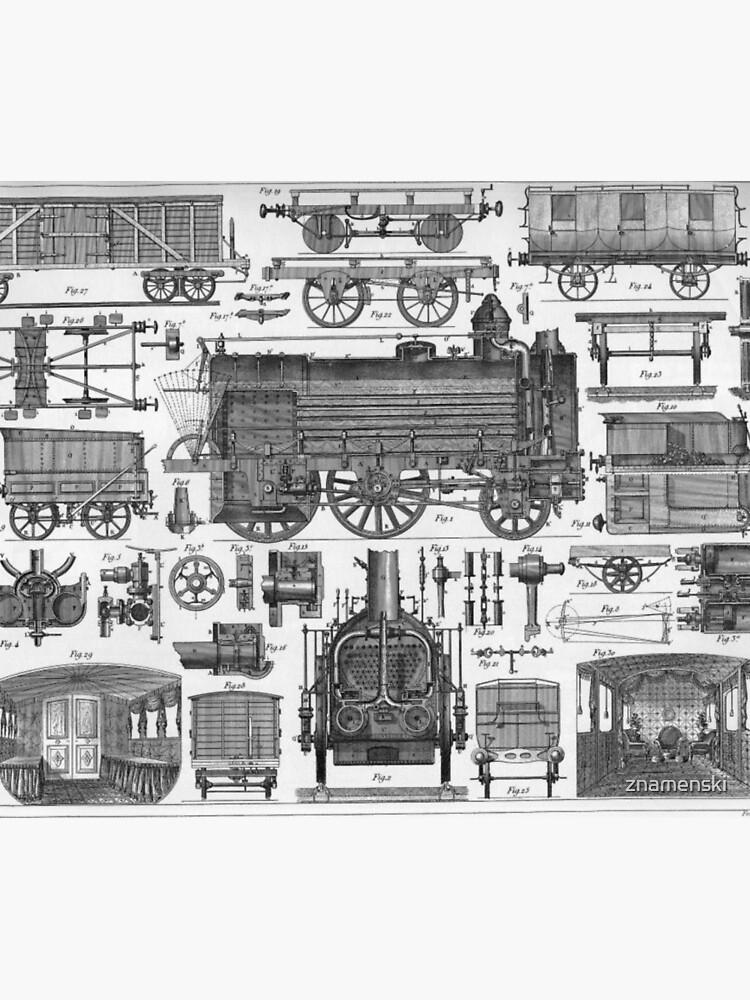Construction of Locomotives and Railway Cars by znamenski