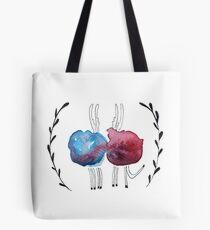 Love Reindeer Tote Bag