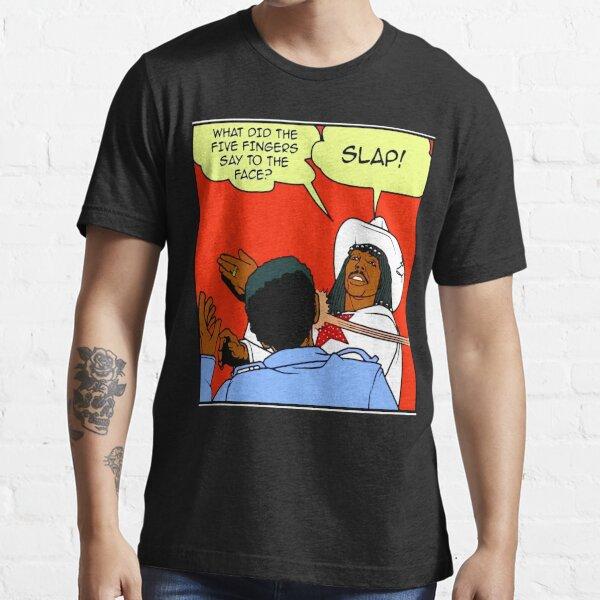 DAVE CHAPPELLE'S RICK JAMES SLAP COMIC STRIP PARODY Essential T-Shirt