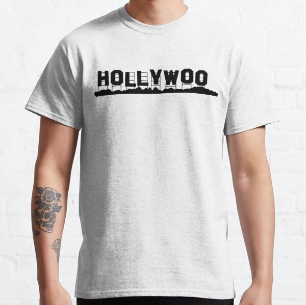 bojack horseman oscuro hollywoo signo Camiseta clásica