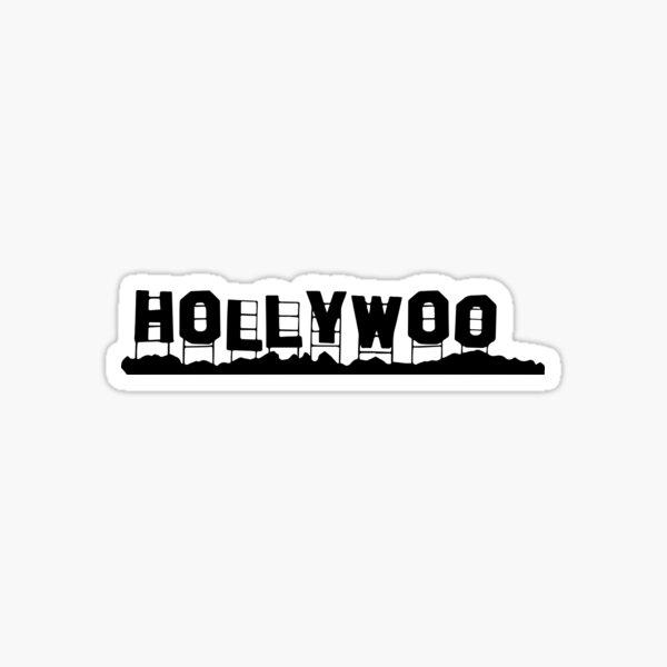 Bojack cavalier signe hollywoo sombre Sticker