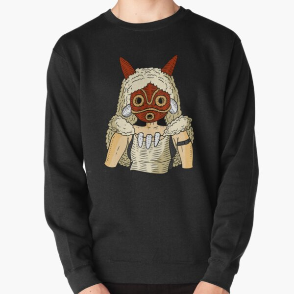 Princesse Mononoke. Sweatshirt épais