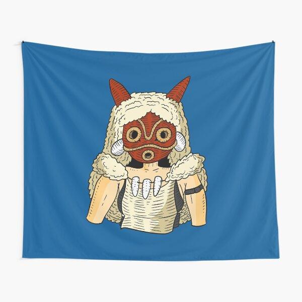 Prinzessin Mononoke. Wandbehang