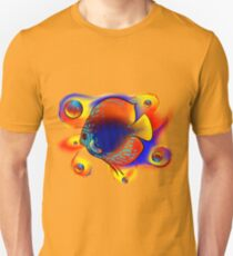 Discuremia V1 - abstract digital artwork, printable digital painting T-Shirt