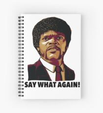 Pulp Fiction Say What Again Spiral Notebook