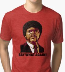 Pulp Fiction Say What Again Tri-blend T-Shirt