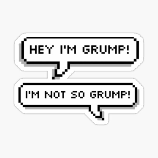 And we're the game grumps! Sticker