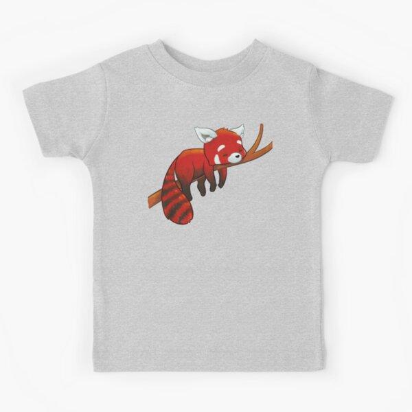 Sleeping Red Panda Kids T-Shirt