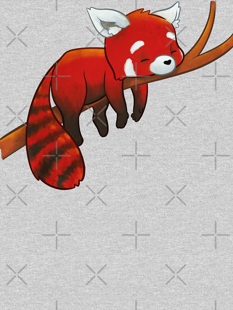 Sleeping Red Panda by powersdesign