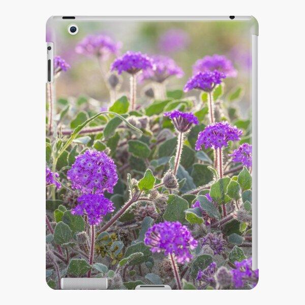 Purple Field of Flowers, Desert Verbena iPad Snap Case