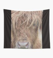 Highland Cattle Wall Tapestry
