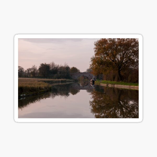 Grand Union Canal Photography  Sticker
