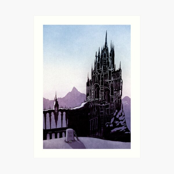 The Holy See of Ishgard Art Print