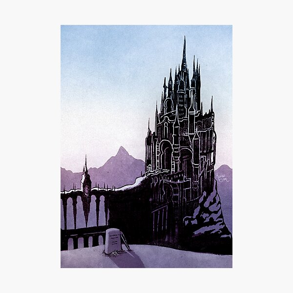 The Holy See of Ishgard Photographic Print