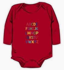 Alphabet fun One Piece - Long Sleeve
