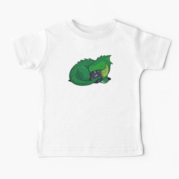 D20 Green Dragon Baby T-Shirt