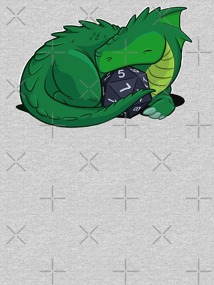 D20 Green Dragon by powersdesign