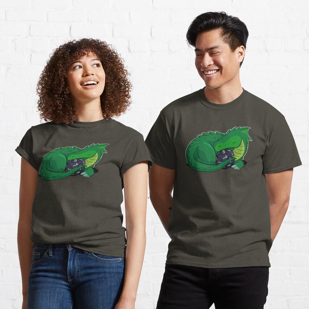 D20 Green Dragon Classic T-Shirt