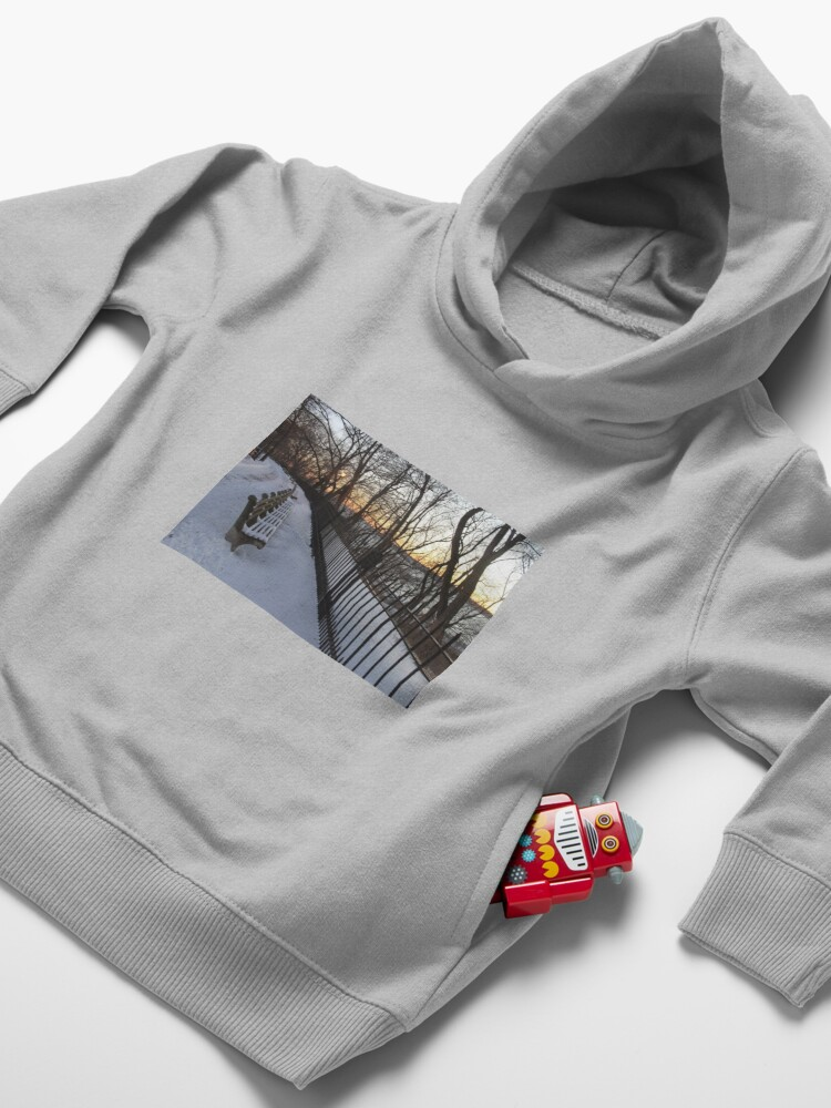 Alternate view of Snow Toddler Pullover Hoodie